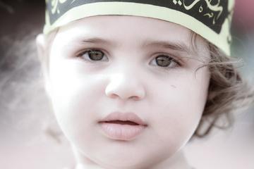 دخترت تشنه اشک است (تصاویر اربعین)