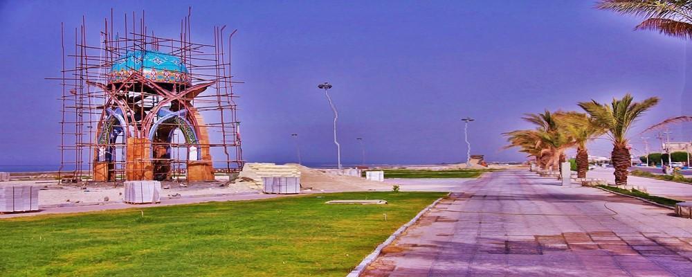 تصویر از تصاویری از المان شهدای بندر سیراف
