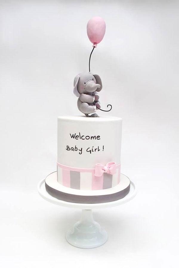 تصویر از جدیدترین انواع مدل کیک تولد دخترانه با طرحهای خاص