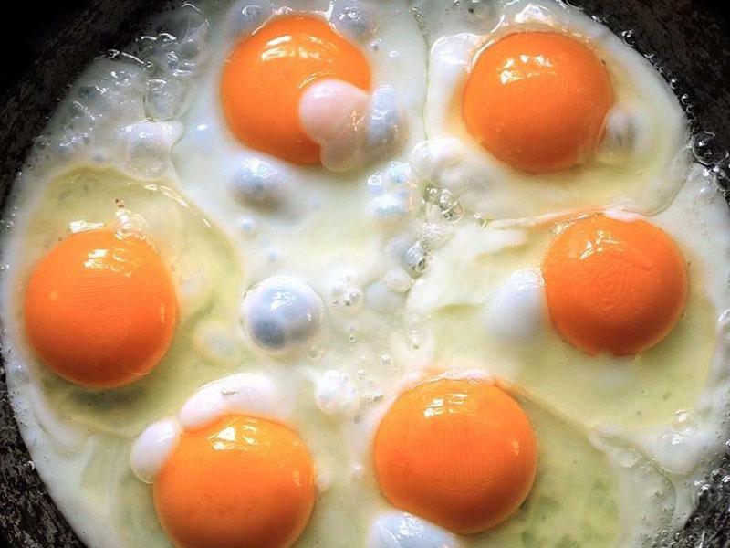 تصویر از ۱۲ واکنش در بدن پس از مصرف تخم مرغ