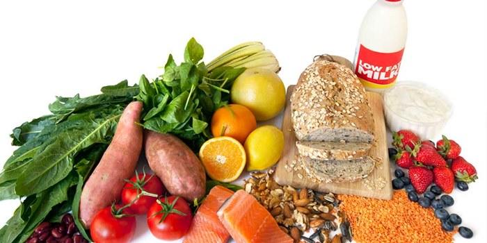 تصویر از جدول کالری مواد غذایی