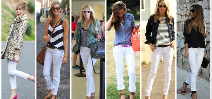 بایدها و نبایدهای پوشیدن شلوار جین سفید