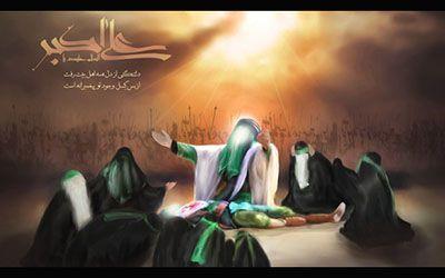 تصویر از متن و شعر کوتاه تسلیت شهادت حضرت علی اکبر | اس ام اس شهادت حضرت علی اکبر