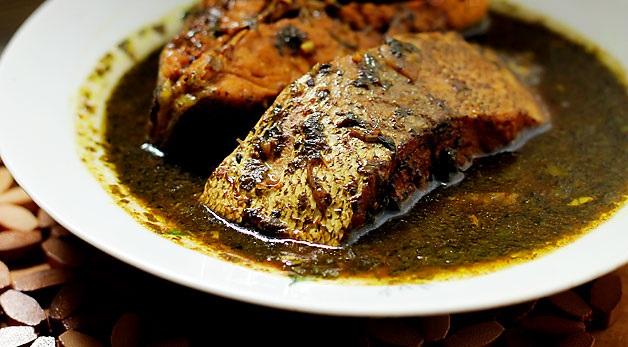 تصویر از طرز تهیه قلیه ماهی با تن ماهی