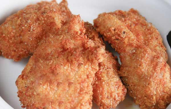 تصویر از طرز تهیه مرغ سوخاری کنتاکی
