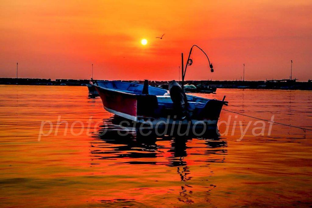 غروب زیبای ساحل سیراف در روز 26 مهر 97 عکاس/ علی رضا پرهیز