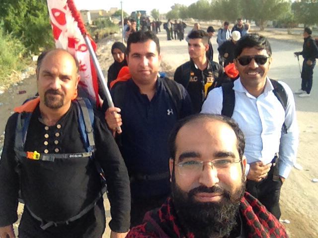 زائرین سیرافی در اربعین حسینی 97/تصاویر