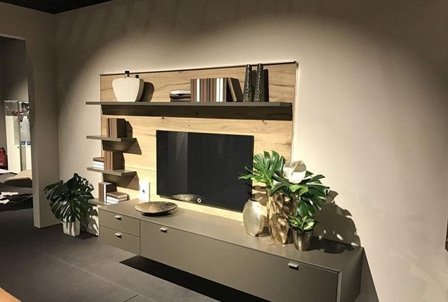 مدل عکس میز و شلف دیواری تلویزیون