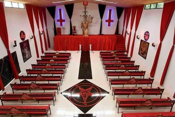 تصویر از نماد شیطان پرستی و علائم مربوط به آن