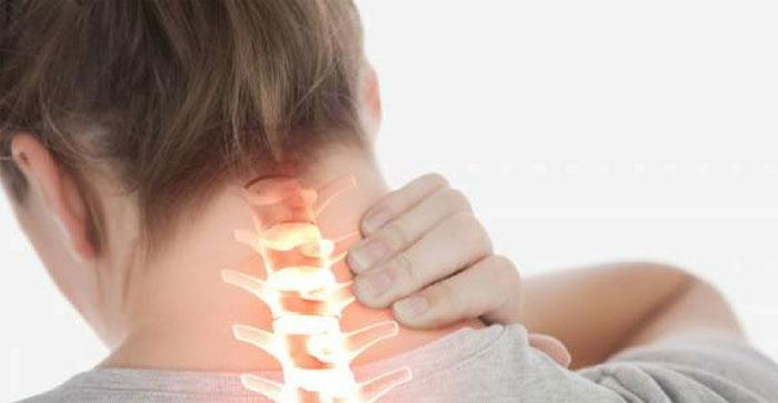 تصویر از علت درد گردن و روش های درمان آن
