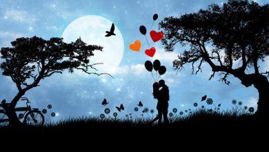 تصویر از متن دوست داشتن عاشقانه