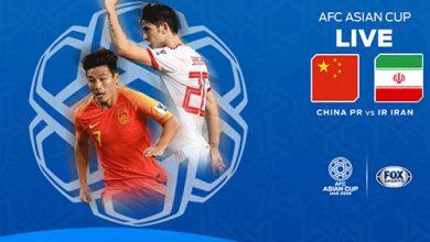 دانلود مسابقه فوتبال ایران و چین در جام ملت های آسیا 2019