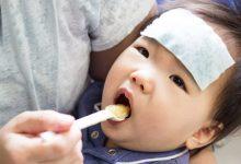 تصویر از غذاهایی که پایین آوردن تب نوزادان کمک میکند
