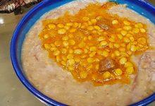طرز تهیه شله مشهدی سنتی، غذایی اصیل