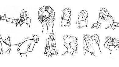 زبان بدن دست ها؛ ۱۳ حالتی که هر کدام معنای خود را دارد!