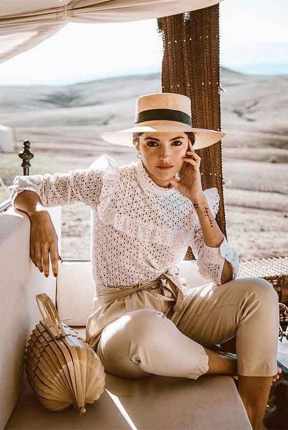 16 مدل بلوز زنانه مجلسی گیپور شیک و جذاب