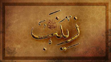 تصویر از مجموعه عکس نوشته وفات حضرت زینب