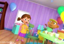 تصویر از کارتون happy birthday song – little angel