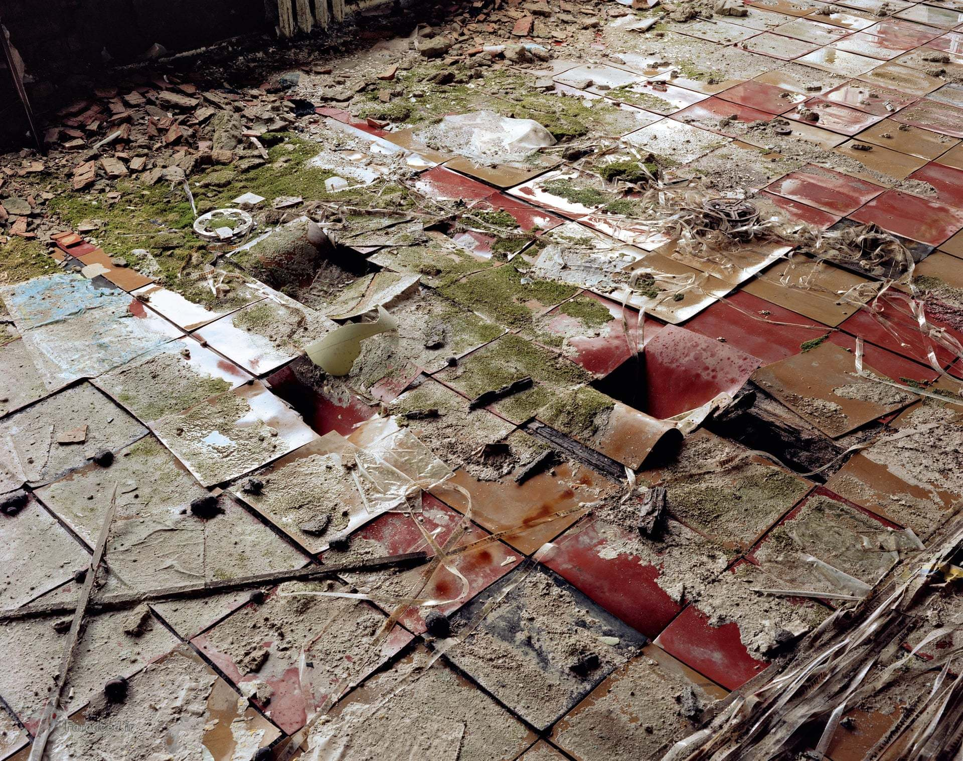 تصاویر/ نگاهی به شهر متروکهی چرنوبیل در گذر زمان