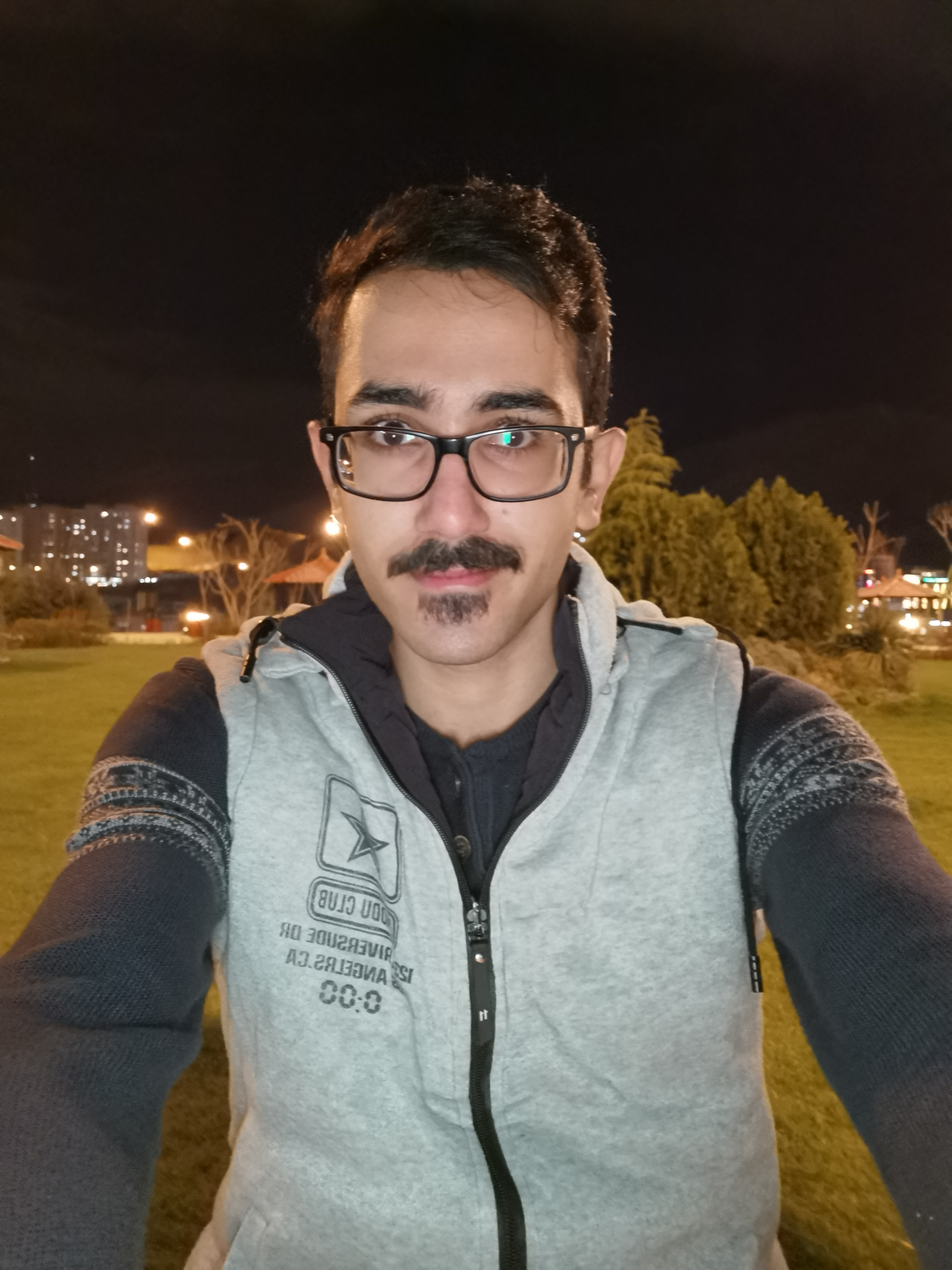 Huawei P30 Pro Selfie - Lowlight - With Flash