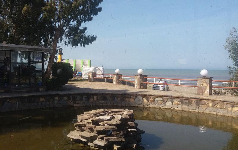 ساحل پارک آبی رامسر