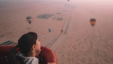 تصویر از As the sun rises over the Dubai Desert Conservation Reserve — the UAE's first na…