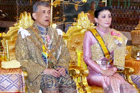 تصاویر/ پادشاه جدید تایلند از کودکی تا تاجگذاری