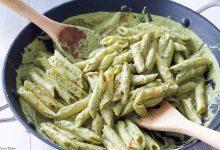 طرز تهیه پاستا پنه با سس پستو خوش طعم و لذیذ