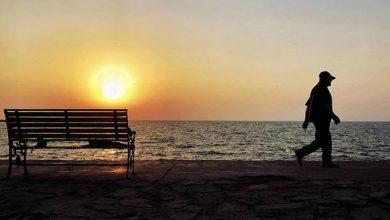 تصویر از اس ام اس غروب آفتاب غمگین + عکس و متن غروب عاشقانه