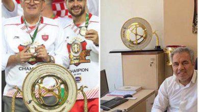 عکس شکسته شدن کاپ جام حذفی در باشگاه پرسپولیس