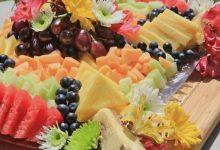 ۳۸ نمونه جذاب برای تزیین ظرف میوه خواستگاری