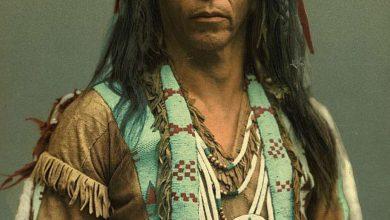 تصاویر/ عکسهای رنگی بومیان ۱۰۰ سال پیش آمریکا