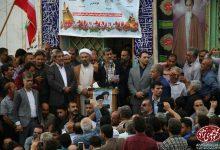 سخنرانی دکتر احمدی نژاد در جمع مردم انقلابی لسبومحله شهر رودسر