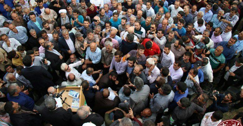 حضور و سخنرانی دکتر احمدینژاد در مراسم یادوراه شهدای لسبو محله رودسر۹۸/۵/۴   تصاویر