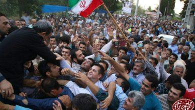 تصویر از نماهنگ حضور دکتر احمدی نژاد در مراسم یادواره شهدای لسبو محله رودسر ۱۳۹۸/۵/۴