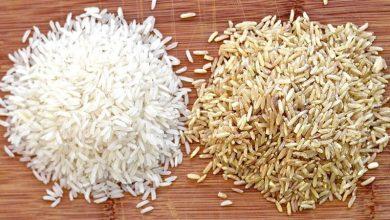 برنج سفید بهتر است یا برنج قهوه ای؟