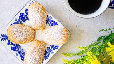 شیرینی صدفی - طرز تهیه شیرینی مادلین فرانسوی با عکس مراحل