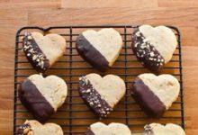 طرز تهیه بیسکوییت با رویه شکلات