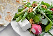 تزیین نون و پنیر و سبزی برای مناسبتهای مختلف