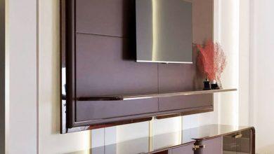 ۲۹ مدل میز تلویزیون دیواری جذاب و مدرن
