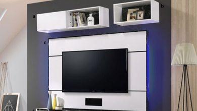 ۲۵ مدل برای تزیین دیوار پشت تلویزیون به صورت مدرن