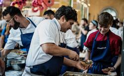 بهترین سرآشپزهای جهان در جشنواره غذای لیون فرانسه +عکس