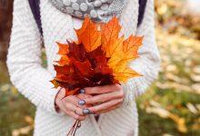 تصویر از عکس دست و برگ پاییزی عاشقانه + متن های زیبایی در مورد فصل پاییز