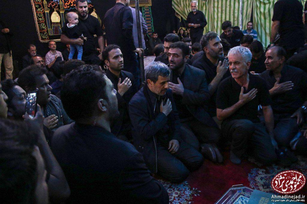 tags - photo 2019 09 19 20 28 49 1024x682 - حضور دکتر احمدی نژاد در مراسم عزاداری شام غریبان حسینیه امام خمینی(ره) بیت رهبری - %d8%af%da%a9%d8%aa%d8%b1-%d8%a7%d8%ad%d9%85%d8%af%db%8c-%d9%86%da%98%d8%a7%d8%af, editors-suggestion%