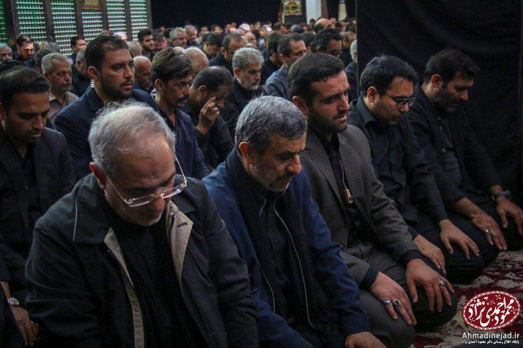 tags - photo 2019 09 19 20 29 07 1024x682 - حضور دکتر احمدی نژاد در مراسم عزاداری شام غریبان حسینیه امام خمینی(ره) بیت رهبری - %d8%af%da%a9%d8%aa%d8%b1-%d8%a7%d8%ad%d9%85%d8%af%db%8c-%d9%86%da%98%d8%a7%d8%af, editors-suggestion%