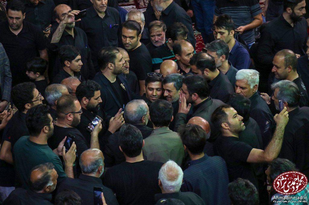 tags - photo 2019 09 19 20 29 15 1024x682 - حضور دکتر احمدی نژاد در مراسم عزاداری شام غریبان حسینیه امام خمینی(ره) بیت رهبری - %d8%af%da%a9%d8%aa%d8%b1-%d8%a7%d8%ad%d9%85%d8%af%db%8c-%d9%86%da%98%d8%a7%d8%af, editors-suggestion%