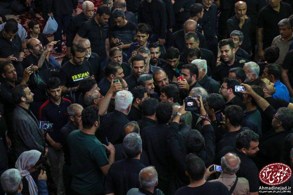 tags - photo 2019 09 19 20 29 19 1024x682 - حضور دکتر احمدی نژاد در مراسم عزاداری شام غریبان حسینیه امام خمینی(ره) بیت رهبری - %d8%af%da%a9%d8%aa%d8%b1-%d8%a7%d8%ad%d9%85%d8%af%db%8c-%d9%86%da%98%d8%a7%d8%af, editors-suggestion%