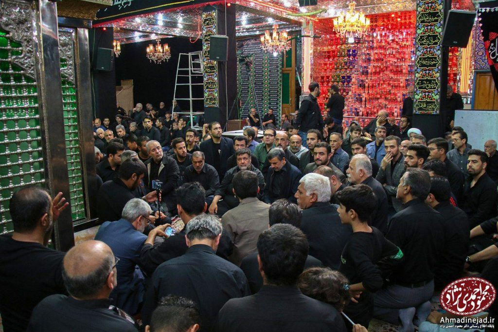 tags - photo 2019 09 19 20 29 22 1024x682 - حضور دکتر احمدی نژاد در مراسم عزاداری شام غریبان حسینیه امام خمینی(ره) بیت رهبری - %d8%af%da%a9%d8%aa%d8%b1-%d8%a7%d8%ad%d9%85%d8%af%db%8c-%d9%86%da%98%d8%a7%d8%af, editors-suggestion%