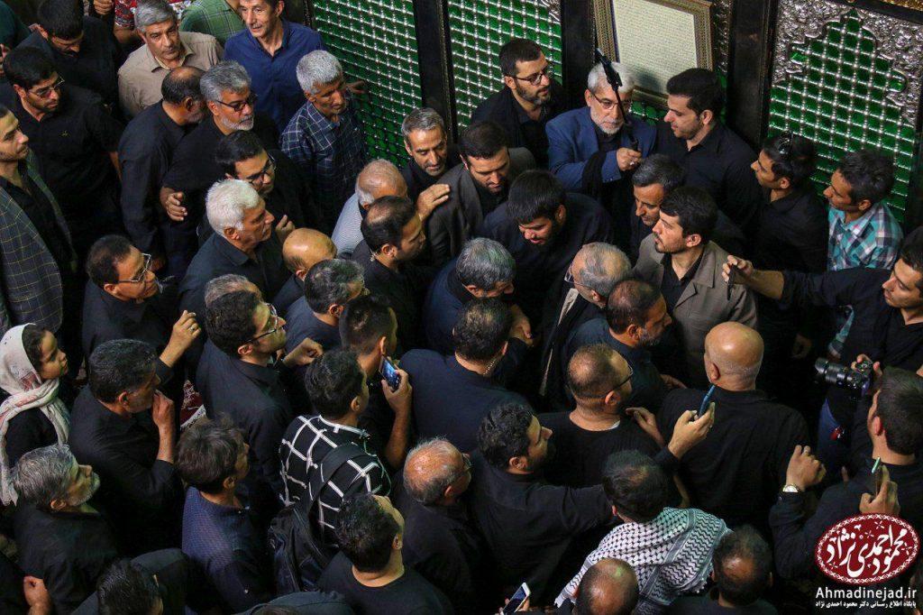 tags - photo 2019 09 19 20 29 28 1024x682 - حضور دکتر احمدی نژاد در مراسم عزاداری شام غریبان حسینیه امام خمینی(ره) بیت رهبری - %d8%af%da%a9%d8%aa%d8%b1-%d8%a7%d8%ad%d9%85%d8%af%db%8c-%d9%86%da%98%d8%a7%d8%af, editors-suggestion%