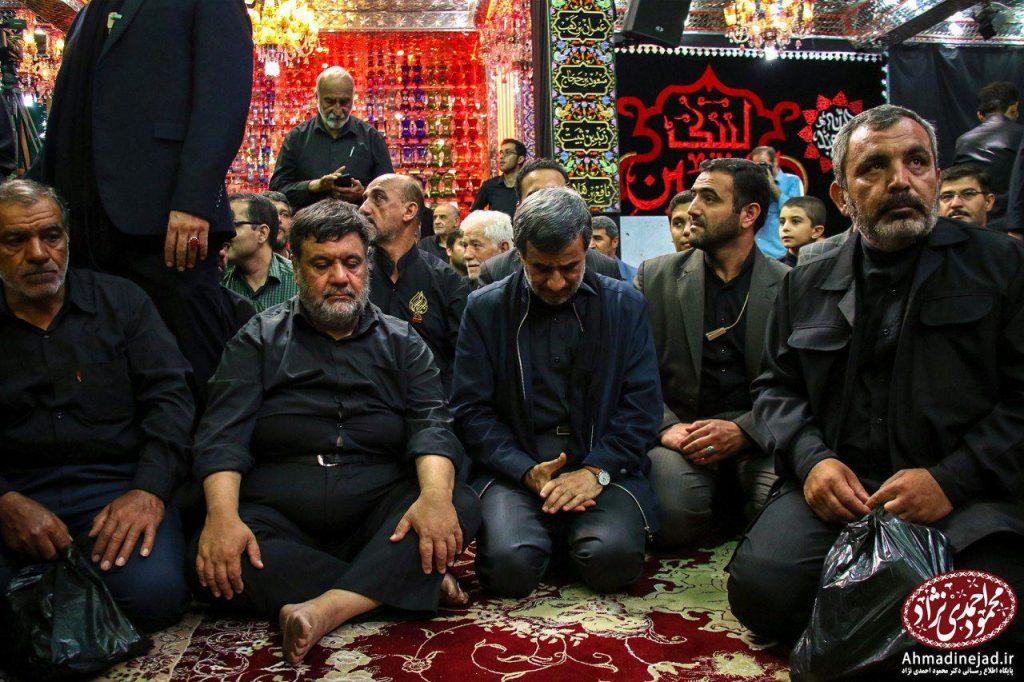 tags - photo 2019 09 19 20 29 32 1024x682 - حضور دکتر احمدی نژاد در مراسم عزاداری شام غریبان حسینیه امام خمینی(ره) بیت رهبری - %d8%af%da%a9%d8%aa%d8%b1-%d8%a7%d8%ad%d9%85%d8%af%db%8c-%d9%86%da%98%d8%a7%d8%af, editors-suggestion%